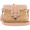 KHOKHO Jabu Leather-Trimmed Mini Basket - Torbice -
