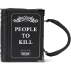 KILLSTAR Kill List Book Handbag [B] - Hand bag -