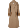 KING & TUCKFIELD Two-tone trench coat - Jacket - coats - $289.50