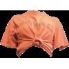 KNOT CROP TOP - T-shirts -