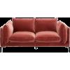 KODE velvet sofa home furniture - Uncategorized -