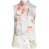Kaileye Tie Neck Top TED BAKER LONDON - Shirts -