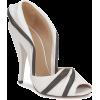 Kallisté 'Burro' black and white peep to - Zapatos clásicos - 248.00€