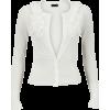 Kardigan White Cardigan - Swetry na guziki -