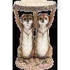 Kare design meerkat sisters sidetable - Furniture -