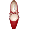 Karen White Girlish Flat - Flats -