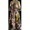 Kasia patchwork floral-print dress - Vestidos -
