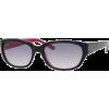 Kate Spade BRI sunglasses 0DC8 Navy Red (XO Navy Gradient Lens) - Sunglasses - $97.93
