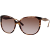 Kate Spade Chantal Sunglasses 01N6 Striated Brown (Y6 Brown Gradient Lens) - Sunglasses - $88.99