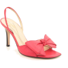 Kate Spade Grenadin New Open Toe Slingback Shoes Pink Womens Coral - Sandals - $109.99
