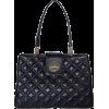 Kate Spade New York Black Quilted Leather Elena Shoulder Tote Bag - Bag - $389.00