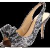 Kate Spade New York Women's Charyl Kitten Heel Pump Pewter - Sandals - $325.00  ~ £247.00