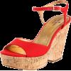 Kate Spade New York Women's Penny Wedge Sandal Red - Sandali - $250.00  ~ 214.72€