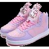KawaiiBabe Unicorn Hightops - Sneakers -