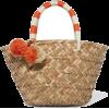 Kayu St Tropez straw bag - Travel bags -