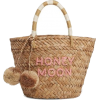 Kayu honey moon straw tote bag - Travel bags -