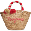 Kayu toujours straw tote - Travel bags -