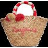 Kayu toujours straw tote - Putne torbe -