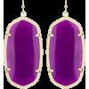 Kendra Scott  Purple Danielle Earrings - Brincos -