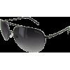 Kenneth Cole Reaction KC1110 Rimless Aviator Sunglasses Shiny Dark Gunmetal - Sunglasses - $29.99