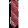 Kenneth Cole Reaction Men's Halfmoon Geo Necktie Burgandy - Tie - $55.00