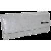 Kenneth Cole Women's Clutch Checkbook Wallet Lined in Leopard Print Grey - Wallets - $15.64