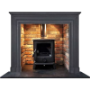 Kensington SlateFireplace Stove Surround - Mobília -