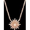 Kenza Lee Sunburst Necklace - Necklaces -