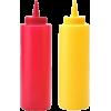 Ketchup & Mustard Bottle Set - Uncategorized -