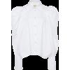 Khaite Brianne Cotton Button-Down Top - Long sleeves shirts -