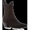 Khaite Saratoga Suede Chelsea Boots - Stiefel -