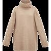 Khaite Tenille slit-shoulder cashmere sw - Pullovers -