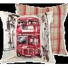 Kissen 'Red Bus' - Articoli -