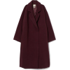 Knee-length Wool-blend Coat - Jakne i kaputi -