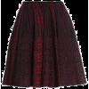 Knitted Skirt - Skirts -
