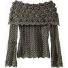 Knitted Blouse - Jerseys -