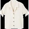 Knots linen shirt - 半袖シャツ・ブラウス -