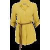 Košulja Yellow Long sleeves shirts - 长袖衫/女式衬衫 -
