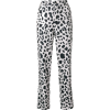 Koche Leopard Print Trousers - Capri hlače -