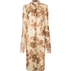 Kwaidan Editions floral print shirt dres - Dresses -