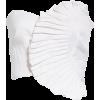 Kyle Ruffle Linen Blend Bustier Top AMUR - Shirts -