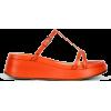 LABUCQ orange sandal - Sandale -