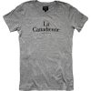 LA CANADIENNE heather grey t-shirt - T-shirts -