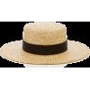 LACK OF COLOR straw boater hat - Šeširi -