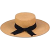 LACK OF COLOR straw hat with ribbon - Hat -