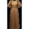 LAKE STUDIO brown metallic dress - Dresses -