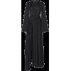 LANVIN black crepe maxi dress - Dresses -