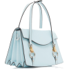 LANVIN blue leather bag - Torebki -
