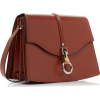 LANVIN brown leather bag - Carteras -