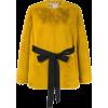 LANVIN faux fur belted jacket - Jaquetas e casacos -